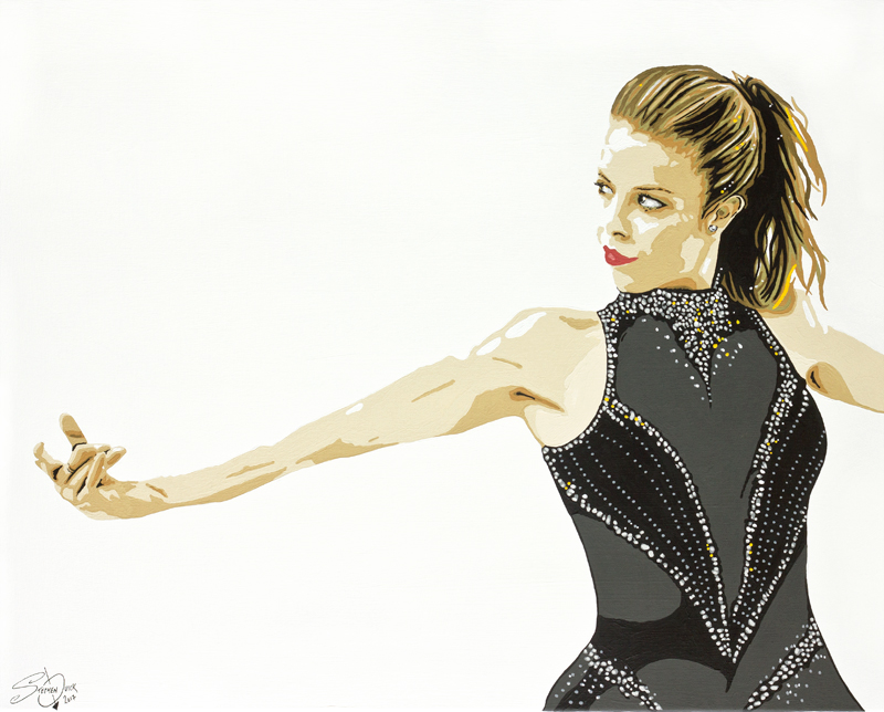 Ashley Wagner Painting