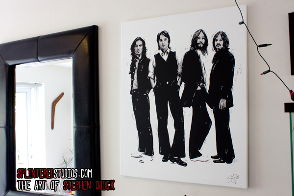 The Beatles Canvas Art