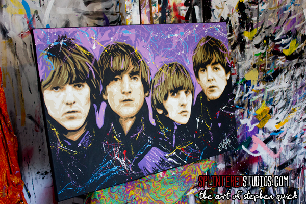 Beatles For Sale Painting