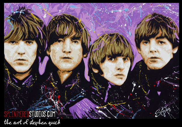 Beatles For Sale Art