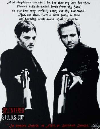 Boondock saints painting