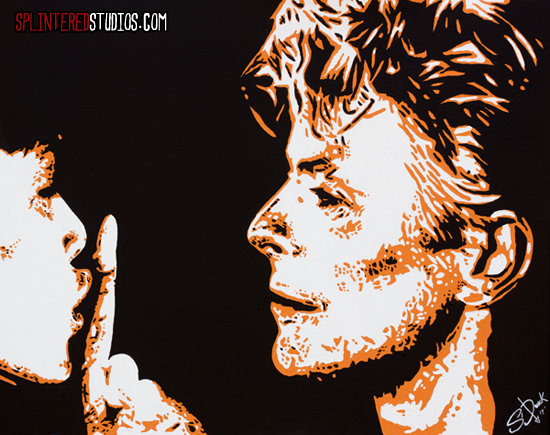 China Girl Painting - Bowie Painting