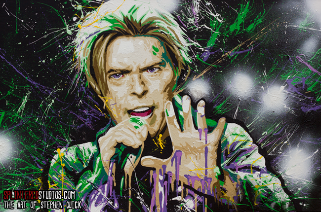 Bowie Art Painting