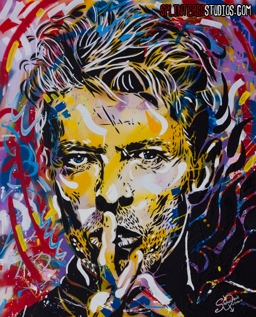 Bowie Spray Paint