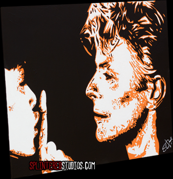 Bowie China Girl Art