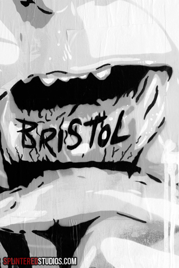 Bristol Lip Art Detail 1