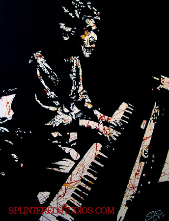 Chick Corea Painting