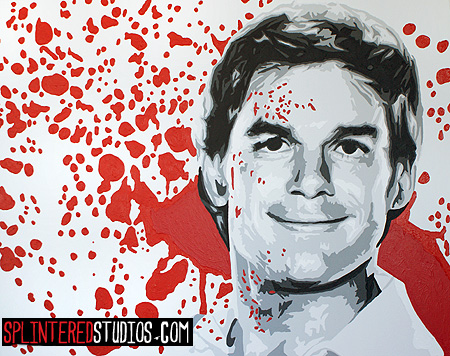 Dexter Pop Art Painting