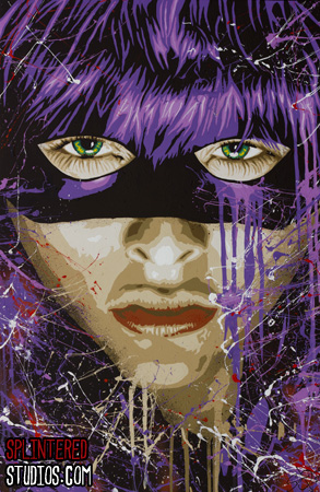 Hit Girl Painting