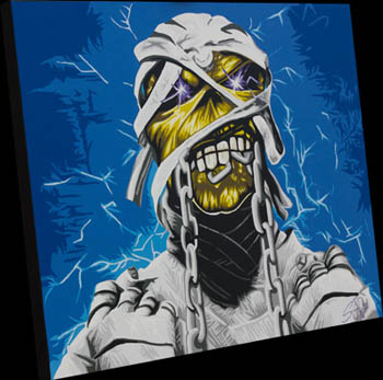 eddie iron maiden painting
