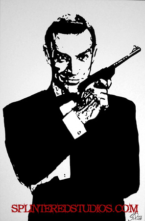 James Bond Pop Art