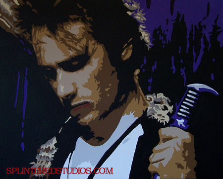 Jeff Buckley Grace Painting