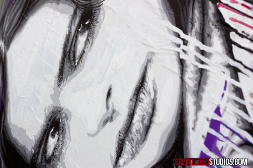 Jessica Jones Painting Detail 03