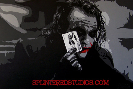 Joker Painting Art