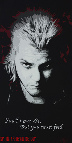 Lost boys Painting