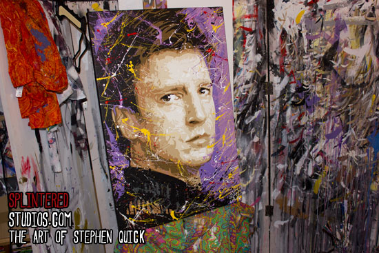 Nathan Fillion Painting