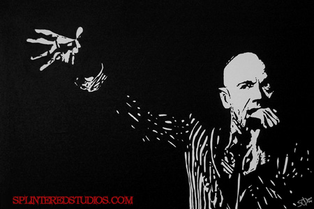 Michael Stipe Painting