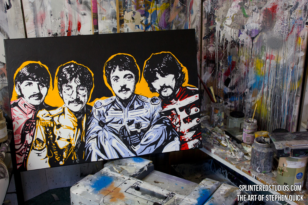 The Beatles Sgt Peppers Art