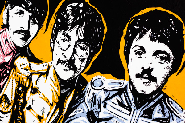 Sgt Peppers Pop Art Detail 02