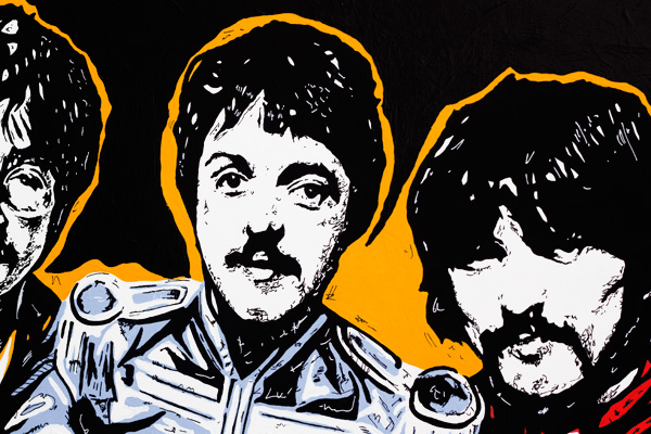Sgt Peppers Pop Art Detail 01