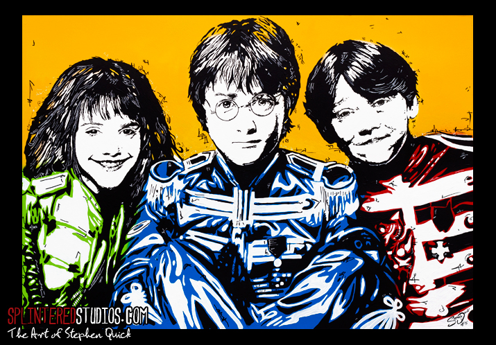 Sgt. Potters Lonely Hearts Club Band Painting