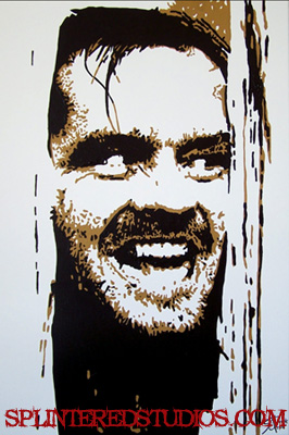 The Shining painting