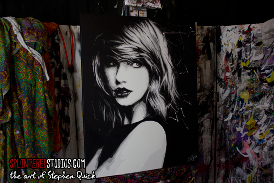 Taylor Swift Art Painting