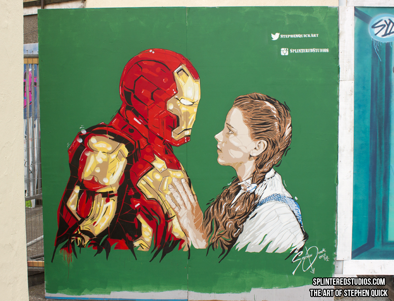 Iron Man / Wizard Of Oz Mash Up Upfest 2016