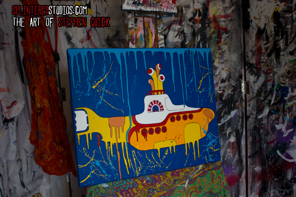 Yellow Submarine Painting