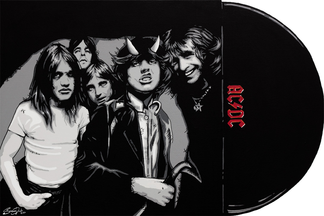 ac/dc painting