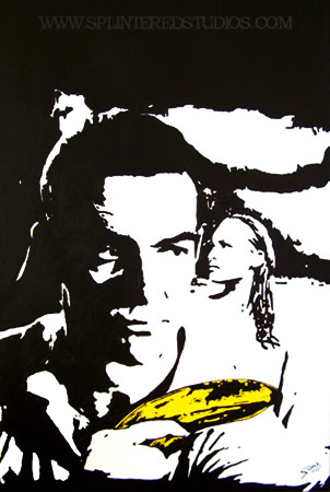 Banana Bond Dr No Painting