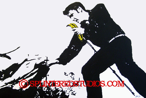 Elvis Parody Art
