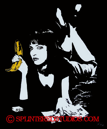 Pulp Fiction Parody Art