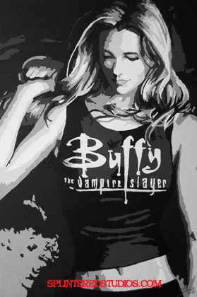 Buffy Season 8 Art Work