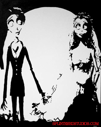 Corpse Bride Painting