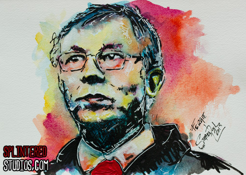 Alex ferguson Painting