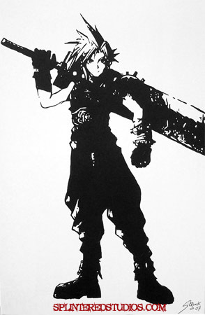 Final fantasy Cloud Painting