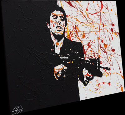 Scarface Pop Art