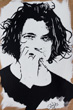 Michael hutchence painting