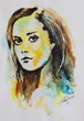 Summer Glau Water Colour